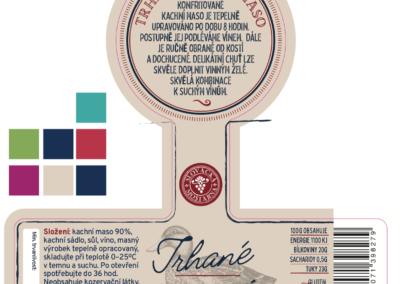 Slovácká Moštárna - etikety