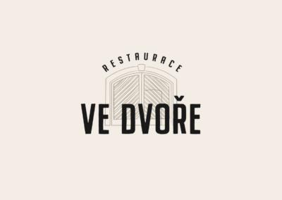 Ve Dvoře - logo